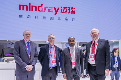 四大美国专家莅临迈瑞展台